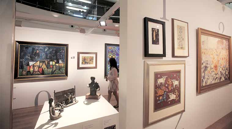 The Piramal Museum of Art in Lower Parel. (Express Photo by Pradip Das)