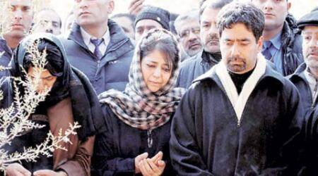 Mehbooba Mufti introduces brother to party, politics