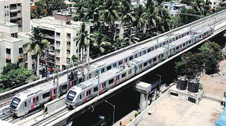 Mumbai: Crash at Metro site holds up ongoing work