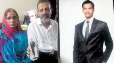india pakistan, indian detained in pak, hamid mother, sushma swaraj, hamid nehal ansari, indian express
