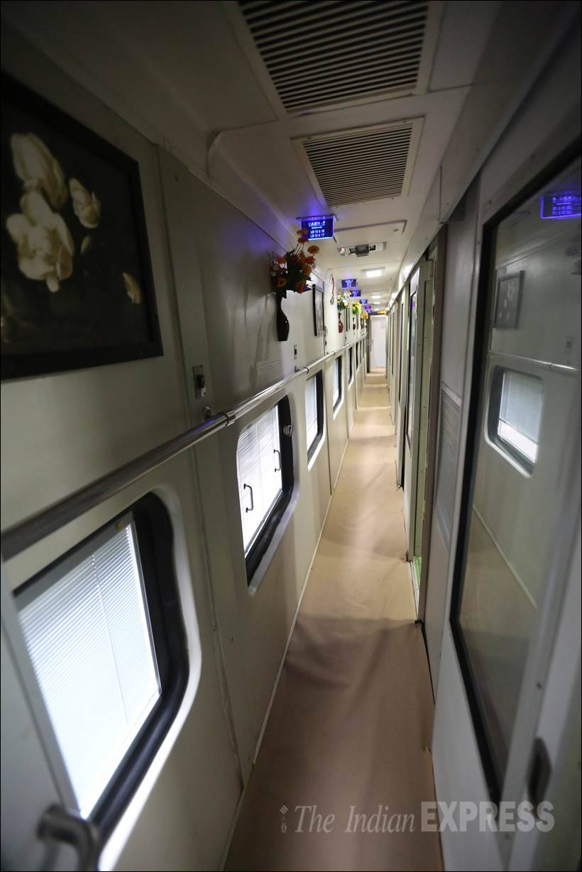 indian railway, new train coaches, New railway Coaches, indian Railway pic, indian railway photos, refurbished coaches, improved interior, safety measures, new toilet modules, Sleeper Classes bogies, AC Compartments, new coaches