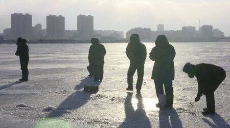 At least 65 dead as cold wave sweeps through eastAsia