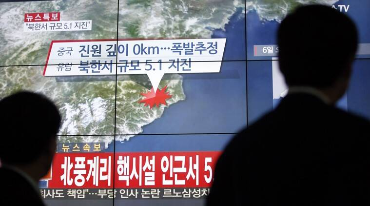 Magnitude 6 quake hits North Korea sparking fears of nuclear bomb