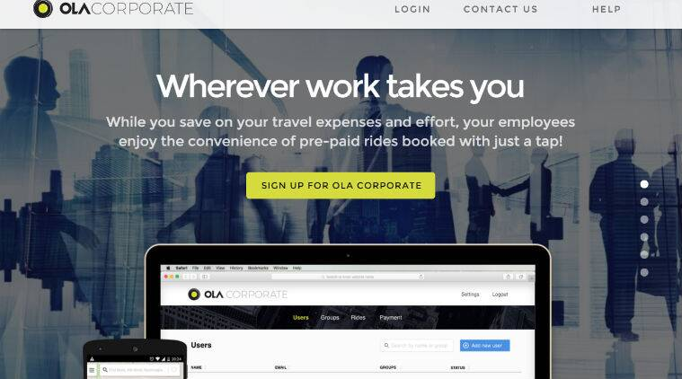 Ola, Ola Corporate, Ola Corporate ride, Ola corporate features, Ola Corporate launch, cab booking apps, book Ola Corporate cab, book Ola cabs, cab sharing apps, Ola car pooling, technology, technology news