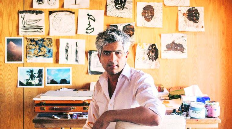 Owais Husain, MF Husain, indian art, indian artist MF Husain, International Institute of Fine Arts, House of Cards,