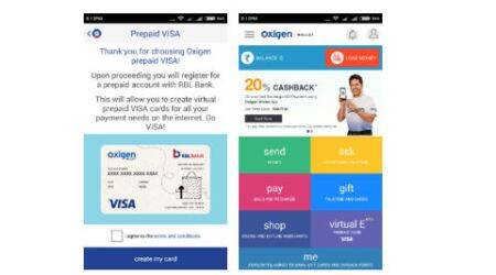 Oxigen launches Virtual Visa Card