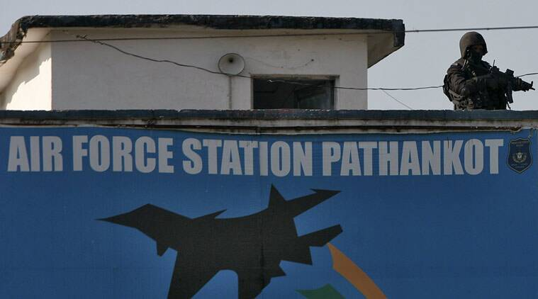 File photo of Pathankot airbase