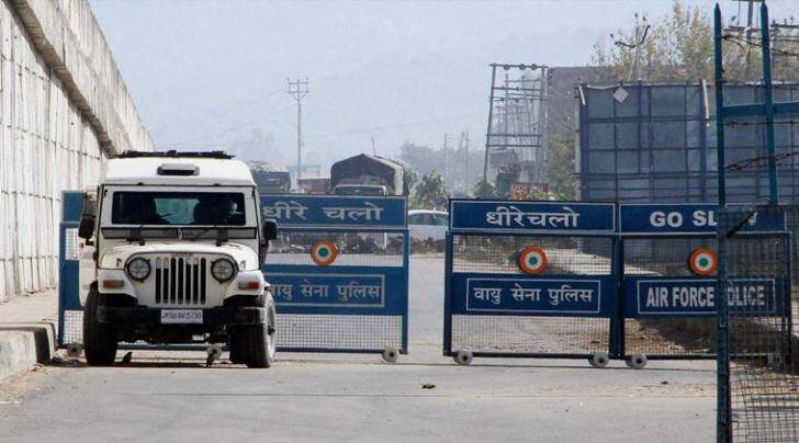 Pathankot: The Indian Air Force base that was attacked by militants in Pathankot, Punjab on Saturday. (PTI Photo)