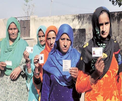 Haryana panchayat polls, panchayat polls, voting, panchayat polls voting, chandigarh news