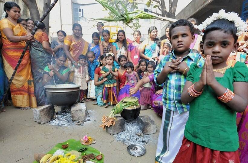 pongal essay in hindi Pongal is the biggest harvest festival for the people of tamil nadu people belonging to hindu faith observe this festival to please the sun god who has been so kind to them.