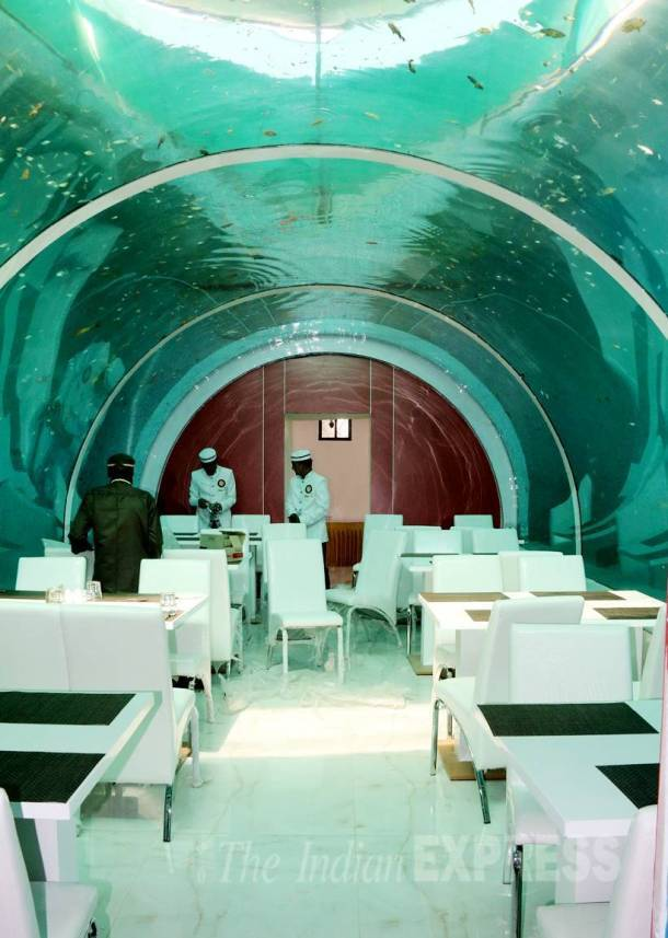 First look: A unique underwater-themed restaurant in Ahmedabad