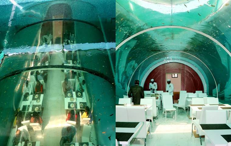 unique restaurants, underwater restaurants, the real poseidon, bharat bhatt, weird restaurants, unique restaurants in india