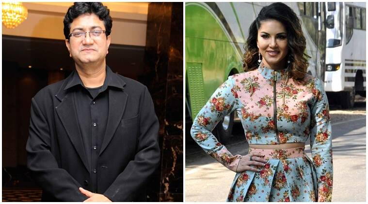 sunny leone, Prasoon Joshi, sunny leone profession, sunny leone news, sunny leone movie, Prasoon Joshi sunny leone, sunny leone upcoming movies, entertainment news