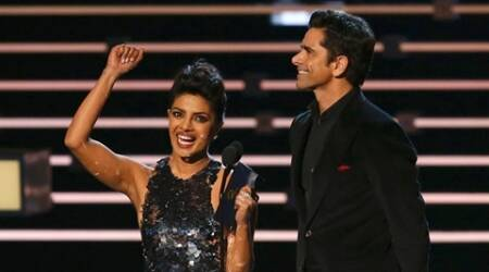 Watch: John Stamos interrupted Priyanka's 'thank you' speech at People's Choice Awards