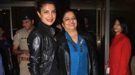Priyanka Chopra celebrates Padma Shri honour with mother inMontreal