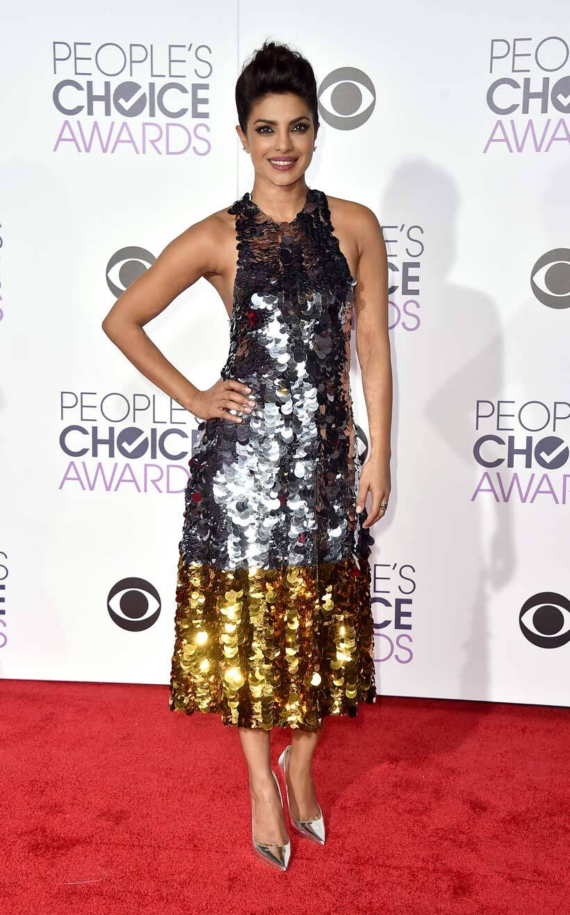 Priyanka Chopra, Priyanka Chopra People's Choice Awards, People's Choice Awards 2016, People's Choice Awards Priyanka Chopra