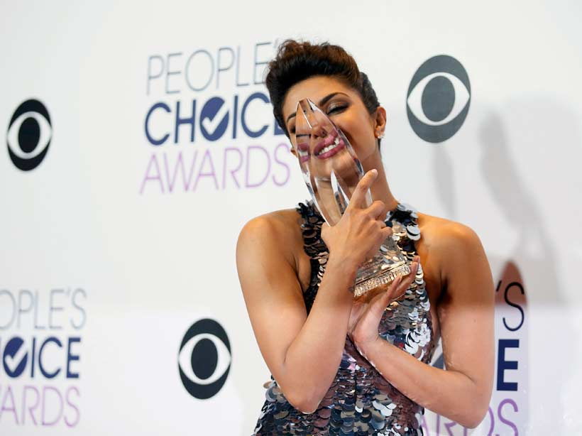 Priyanka Chopra, Quantico, People's Choice Awards 2016