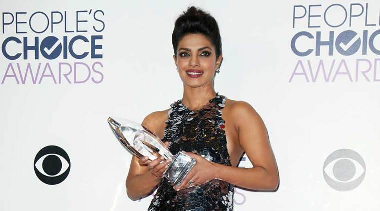 Priyanka Chopra, Priyanka Chopra winner, Quantico, Priyanka Chopra news, Priyanka Chopra People's Choice Awards, People's Choice Awards 2016, entertainment news