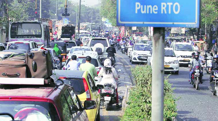 Any city's vehicular traffic situation indicates how 'smartly' it has developed or otherwise. Express
