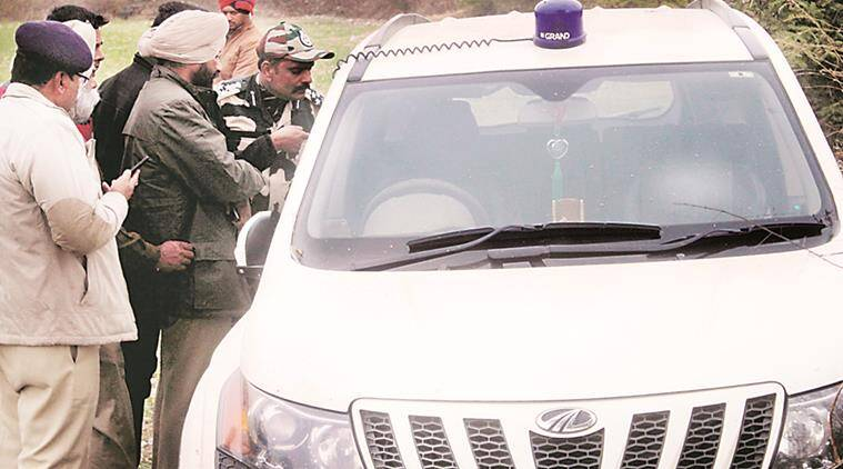 punjab SP car attacked, punjab sp car abduction, jammu pathankot highway, punjab terror links, punjab news, india news, latest news
