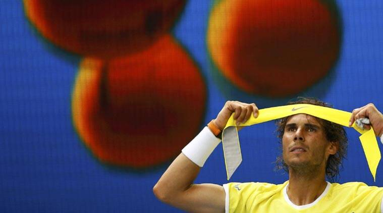Rafael Nadal lost his five-set Rd 1 contest on Tuesday. (Source: Reuters)