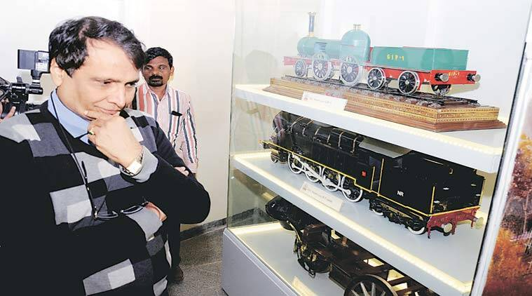 revamp rail museum, national rail museum, Suresh Prabhu, rialway minister railway minsiter, delhi news