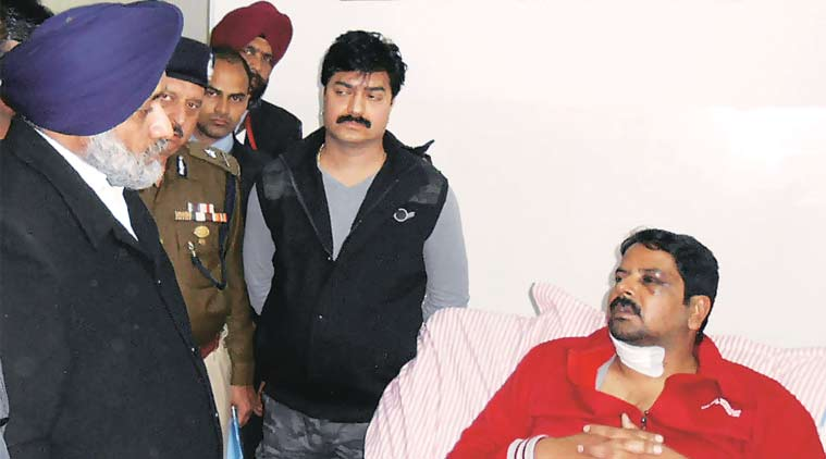 Rajesh Verma was discharged from Pathankot hospital on Monday.