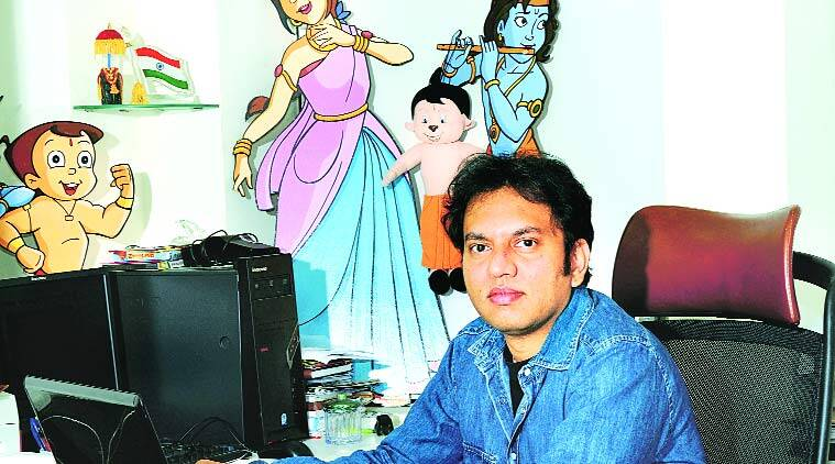 Chhota Bheem, Rajiv Chilaka, Rajiv Chilaka Chota Bheem, animation industry, tv animation, tv animation industry, mythology, mahabharat, talk