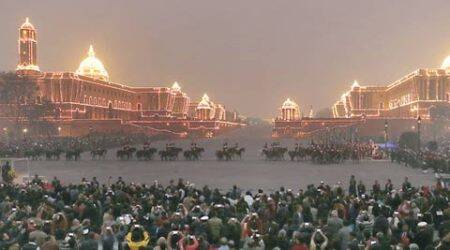 Indian classical instruments and 'popular' music take centre stage at Beating Retreat