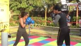 Watch Saala Khadoos Actress Ritika Singh Boxing