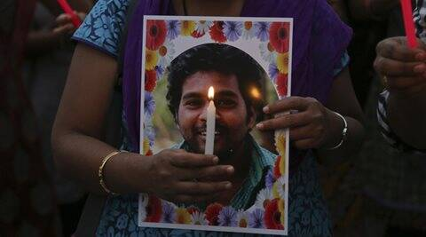 rohith vemula, rohith vemula suicide, hyderabad, hyderabad university, hyderabad news, india news, rohith fan missing, rohith friend missing