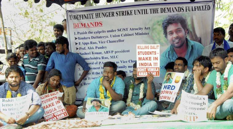 rohith vemula, rohith vemula suicide, hyderabad, hyderabad university, hyderabad news, india news