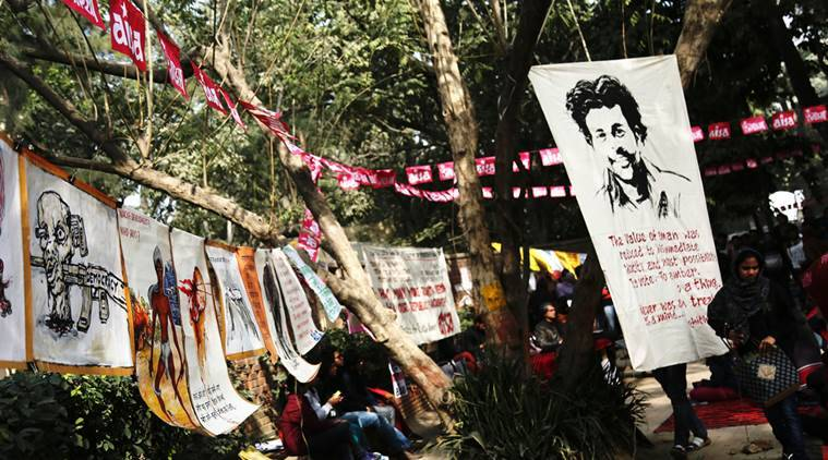 rohith vemula, university of hyderabad, demands met, classes begin from monday, protest continues, rohith vemula suicide case