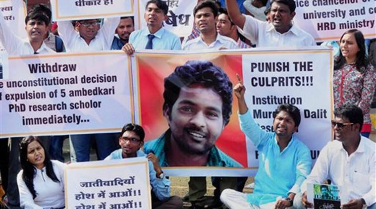 Rohith Vermula, BJP on Rohith Vermula, Rohith Vermula terrorist, Rohith Vermula anti nationa, Hyderabad University, Congress politics on Dalit suicide, Dalit suicide