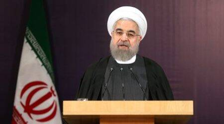 Iranian President Hassan Rouhani welcomes lifting of sanction, says N-deal a 'new chapter'