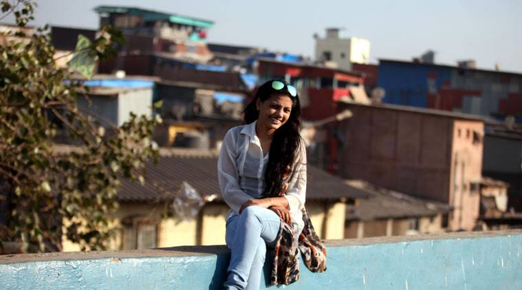 Rubina Ali is a one-in-a-million star. Plucked from among five hundred slumkids who auditioned for Danny Boyle's multi-Oscar-winning film Slumdog Millionaire. Bandra on Tuesday. Express photo by Vasant Prabhu, 221215, Mumbai.