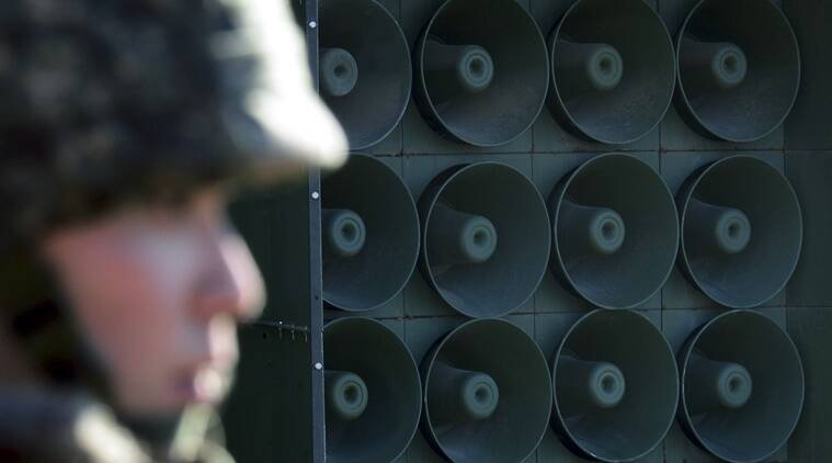 South Korea dismantles propaganda loudspeakers at border
