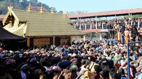 Sabarimala temple, Sabarimala temple women ban, menstrual women ban Sabarimala temple, supreme court, supreme court Sabarimala temple ban, india news, latest news