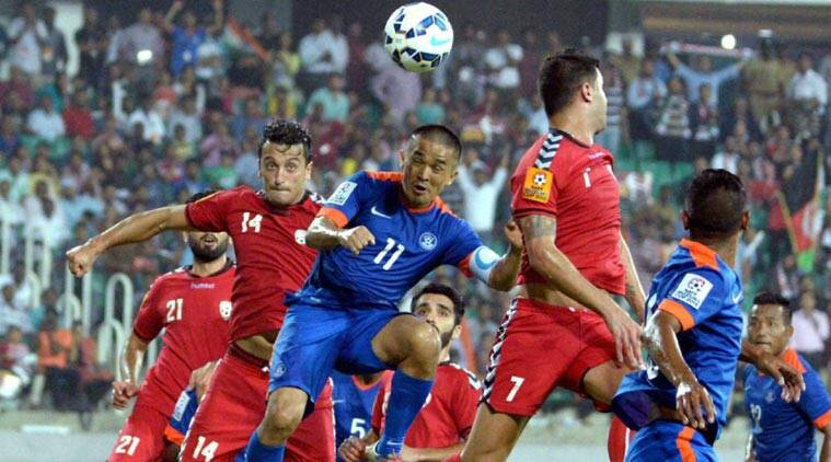 SAFF Cup, SAFF Cup final, India football, football india, india football team, sunil chetri, india vs afghanistan, afghanistan vs india, football news, football