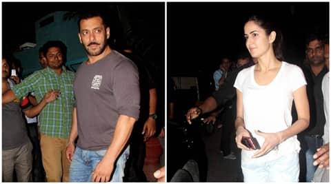 Katrina Kaif spotted with ex-boyfriend Salman Khan amid ...