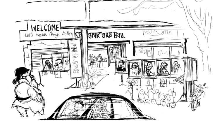 A market for music at Sankara Hall, between Music Academy and Narada Gana Sabha.