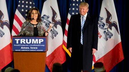 Sarah Palin endorses Donald Trump with a 'hallelujah'