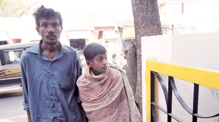 Savan Rathod's father and brother in Pune. (Source: Arul Horizon)