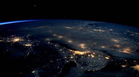 American astronaut clicks pics of massive blizzard fromspace