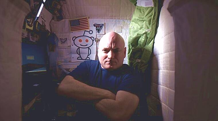 Astronaut Scott Kelly, NASA, Reddit AMA, astronaut, Reddit, ask me anything, International Space Station, ISS, Space, #YearInSpace, sleeping in space, calluses, dial-up connection, Bahamas, David Bowie, Gravity, The Martian, Mars, Nikon D4, astrophotography, salt, powder, ventilation, Space Oddity, Modern Love, urine, toilet, spaceship, alien spaceship, alien spaceship, Mars mission