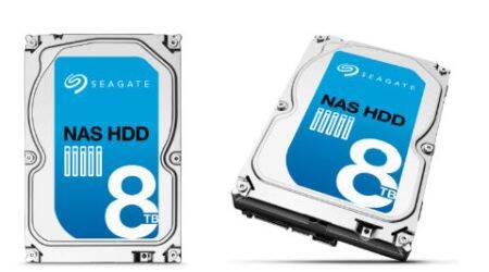 Seagate launches NAS HDD 8TB, the highest capacity drive forstorage