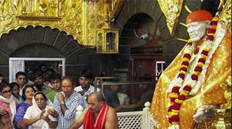 shirdi shrine, sai baba temple, donation at shirdi shrine, shirdi shrine collects donation, shirdi shrine of sai baba, new year donation, shirdi shrine new year donation, sai baba new year donation