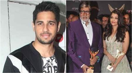Amitabh Bachchan, Aishwarya Rai, Siddharth Malhotra, Aishwarya Rai-Bachchan, Siddharth Malhotra films, Siddharth Malhotra upcoming films, entertainmen news