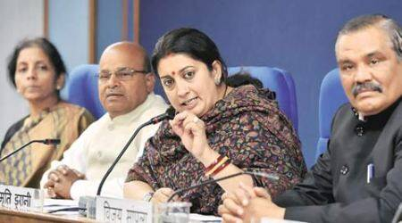 smriti irani, HRD minister, HRD ministry, retired teachers, teacher retirement