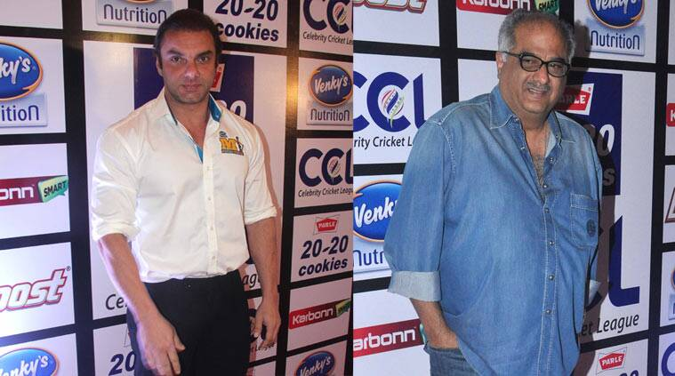 Sohail Khan, Boney Kapoor, Celebrity Cricket League